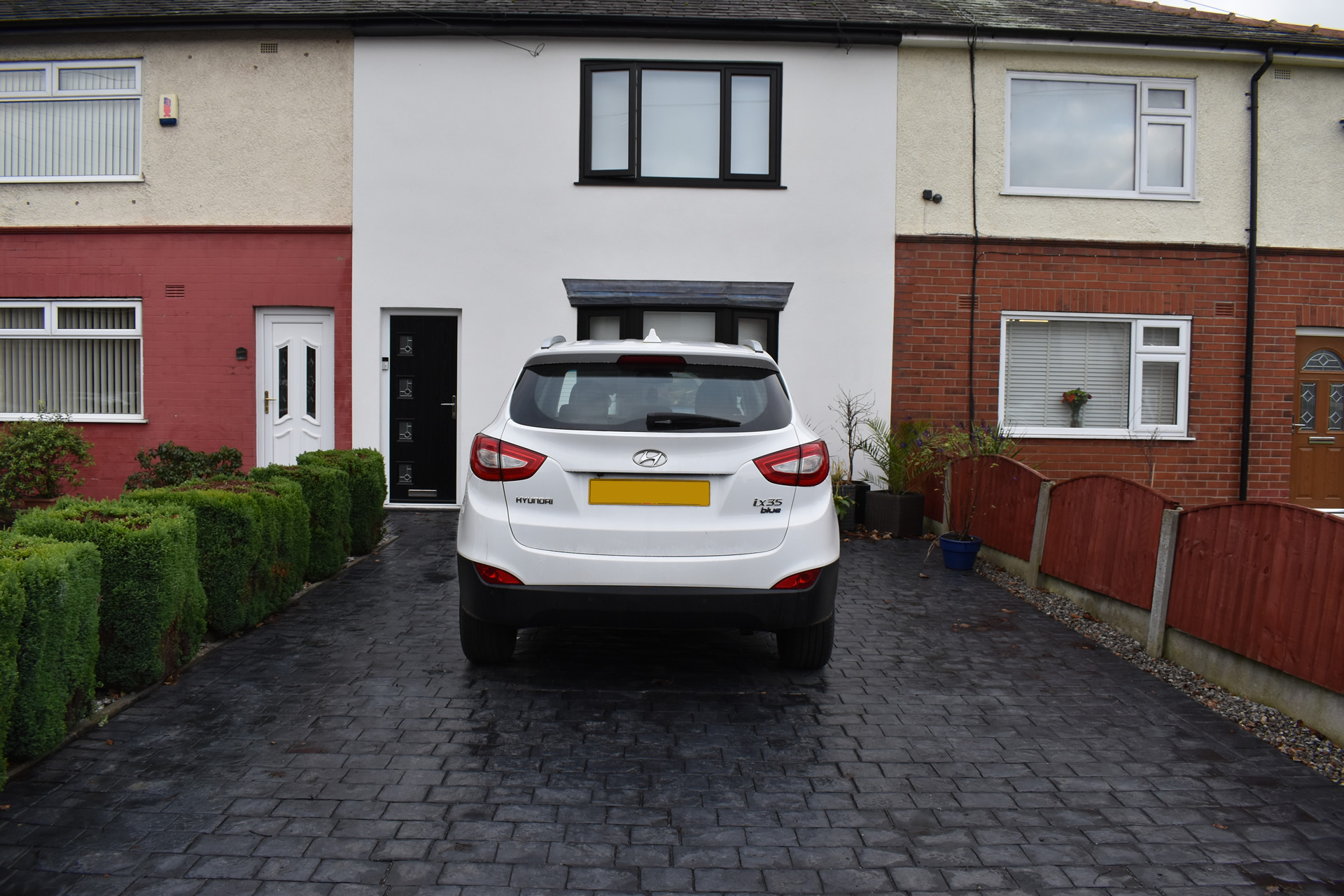 New driveway in Bolton, Greater Manchester